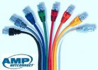 Patch Cord Cat6 Azul 7 pies Linea SL Color Boot Delgado y Plug Alto Rendimiento